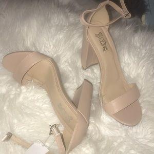 Beigh heels